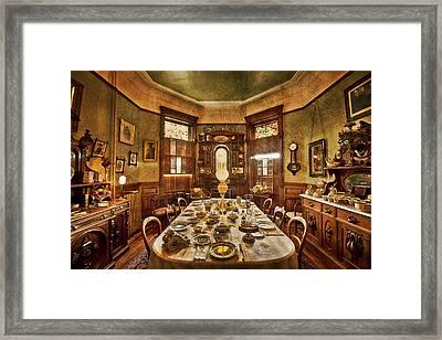 Dunsmuirs Dinning Room Framed Print by Eti Reid