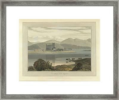 Dunstaffnage Castle In Argyllshire Framed Print