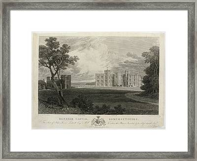 Dunster Castle Framed Print by British Library