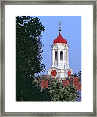 Dunster House On The Campus Of Harvard University Framed Print by Mountain Dreams
