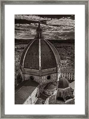 Duomo Dalla Campanile  Framed Print