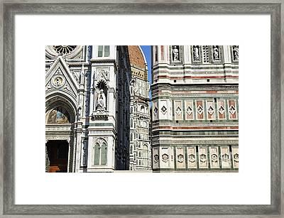 Duomo Santa Maria Del Fiore Framed Print by Sami Sarkis