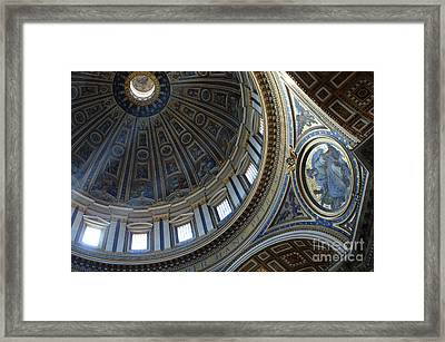 Duomo St Peters 2 Framed Print