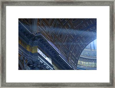 Duomo St Peters 3 Framed Print