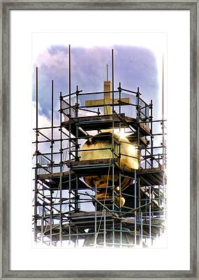 Florence Duomo Under Repair Framed Print by Henry Kowalski