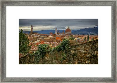 Duomo View Framed Print