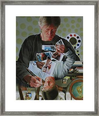 Duplicated2 Framed Print by Denny Bond