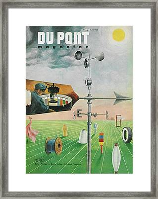 Dupont And Product Testing Framed Print by Hagley Museum And Archive