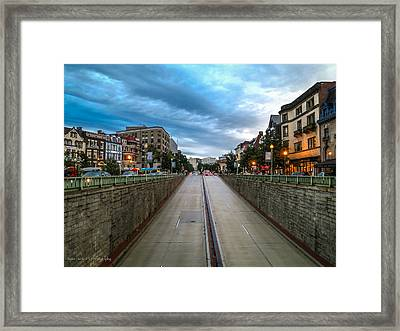 Dupont Circle Framed Print by Ross Henton