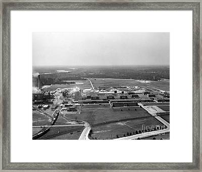 Dupont Seaford Factory Site, 1940s Framed Print by Hagley Archive