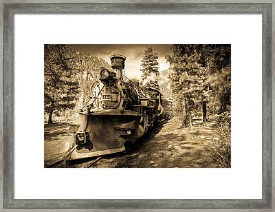 Durango And Silverton #2 Framed Print by TL  Mair