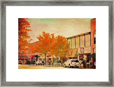 Durango Autumn Framed Print by Jeff Kolker