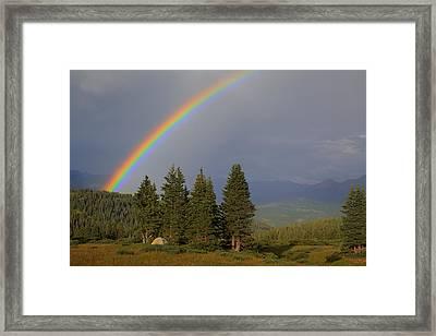 Durango Rainbow Framed Print
