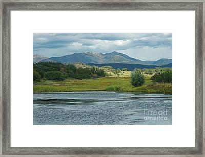 Durango Framed Print by Tina Osterhoudt