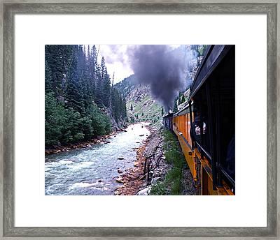 Durango To Silverton Framed Print by Kume Bryant
