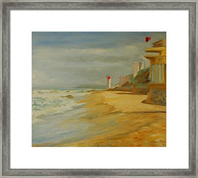 Durban Light House Framed Print