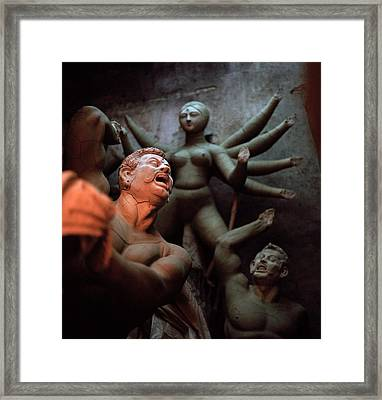 Durga And The Dream Framed Print