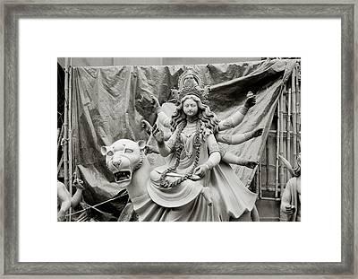Durga Framed Print by Shaun Higson