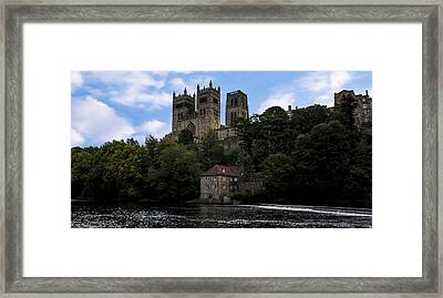 Durham Cathedral And Fulling Mill Framed Print by Trevor Kersley