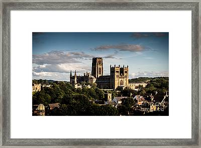 Framed Print featuring the photograph Durham Cathedral by Matt Malloy