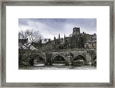 Durham City Bridge Framed Print