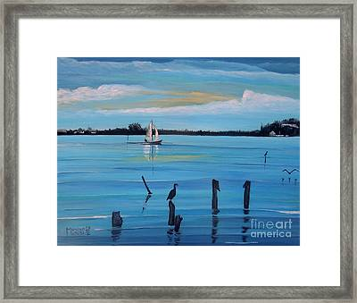 Dusk Approaching  Framed Print