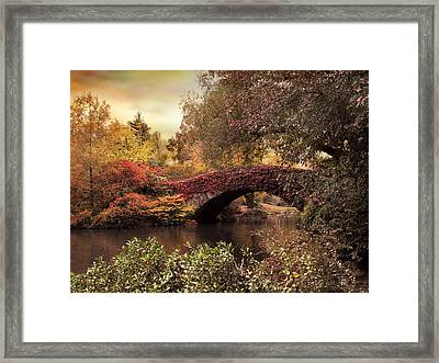 Framed Print featuring the photograph Dusk At Gapstow by Jessica Jenney
