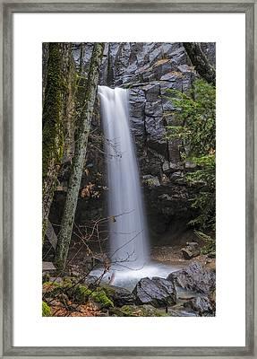 Dusk At Hedge Creek Falls Framed Print