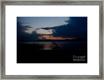 Dusk  Framed Print by Cassie Marie Photography