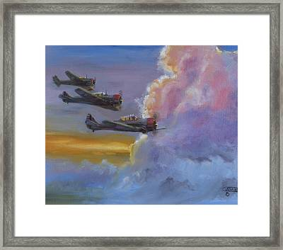 Dusk Flight Framed Print by Christopher Jenkins