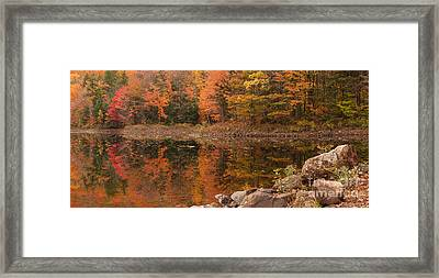 Dusk Reflections Framed Print
