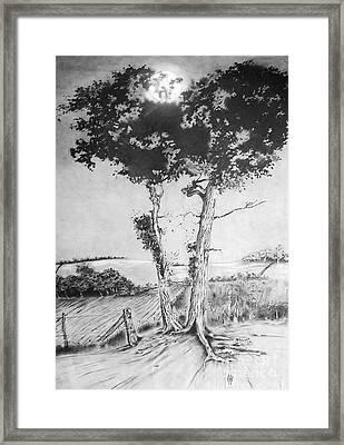 Dusk Framed Print by Russ Murry