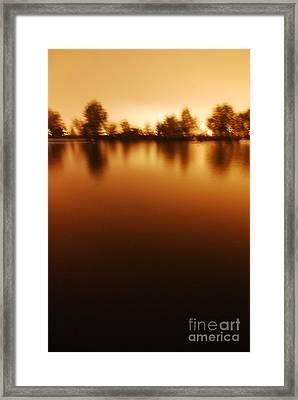 Dusk Framed Print by Susan Hernandez