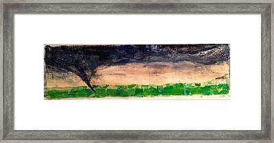 Dusk Twister Framed Print by Jame Hayes