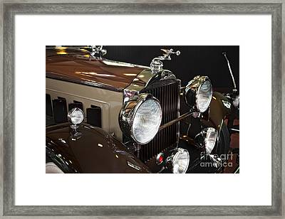 Old Packard Framed Print by Timothy Hacker