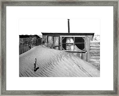 Dust Bowl, Cimarron County, 1937 Framed Print by Science Source