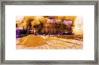 Dust Bowl Framed Print