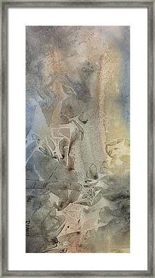 Framed Print featuring the painting Dust Drift by Rebecca Davis