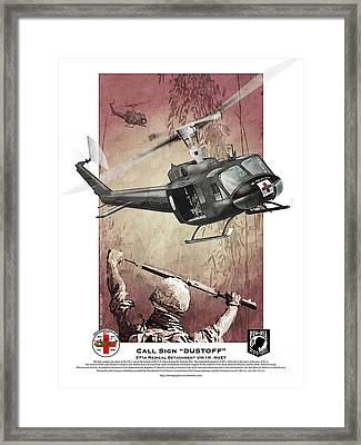 Dust Off 2 Framed Print