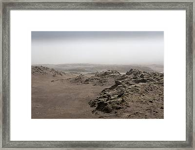 Dust Storm, Eastern, Iceland Framed Print by Panoramic Images