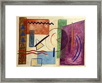 Dust You Are And Dust You Will Return Framed Print by Anthony Falbo