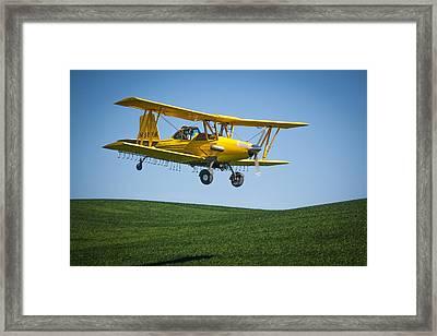 Duster Framed Print