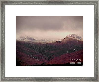 Dusting Framed Print