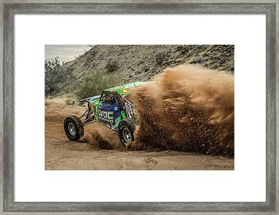 Dusting Framed Print by Randy Turnbow