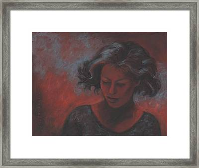 Dusty Path Framed Print by Debra Lynn Birchell