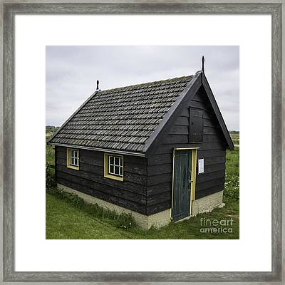 Dutch Barn Kinderdijk Squared Framed Print by Teresa Mucha