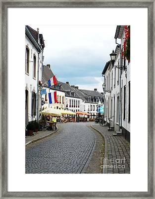 Dutch Cityscape - Thorn Framed Print by Carol Groenen
