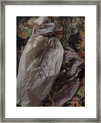 Dutch Damsel Framed Print