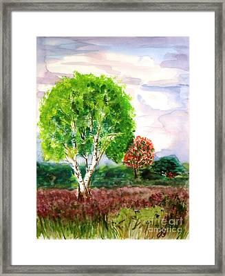 Dutch Heath Framed Print