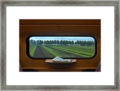 Dutch Landscape Framed Print
